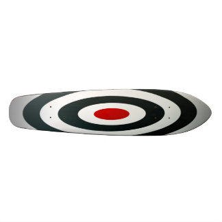 Cible folle de boudine de planche à roulettes cust plateaux de skateboards customisés