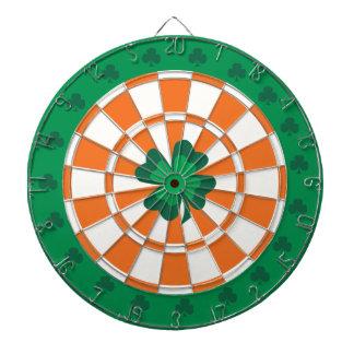 Cible irlandaise : Vert, orange, et blanc de Jeux De Fléchettes