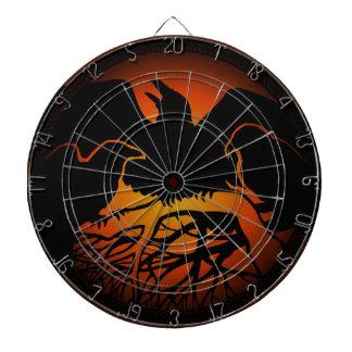 Cible tribale d'art de Raven de cool de cible de R Jeux De Fléchettes