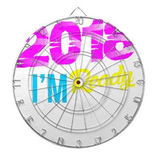 Cibles De Fléchettes 2018 je suis prêt