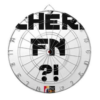 Cibles De Fléchettes Chéri FN ?! - Jeux de Mots - Francois Ville