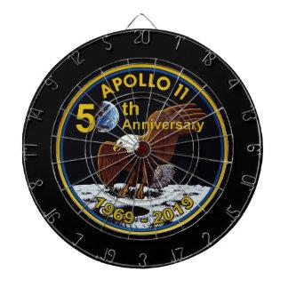 Cibles De Fléchettes Cinquantième anniversaire d'Apollo 11