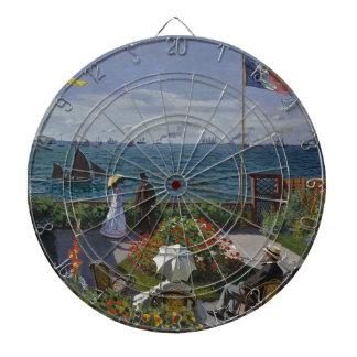 Cibles De Fléchettes Claude Monet - le jardin à l'art de Sainte Adresse