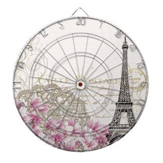 Cibles De Fléchettes Copie vintage de Tour Eiffel de Paris