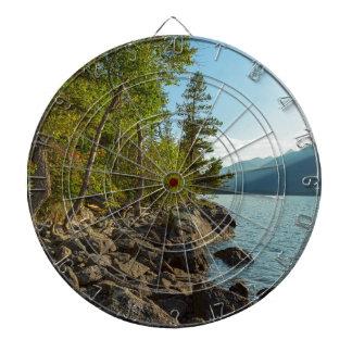 Cibles De Fléchettes Côte de Teton de lac jenny