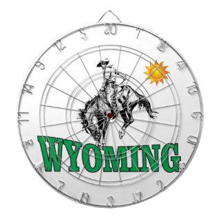Cibles De Fléchettes Cowboy du Wyoming