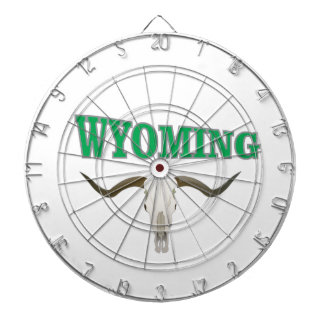 Cibles De Fléchettes Crâne du Wyoming