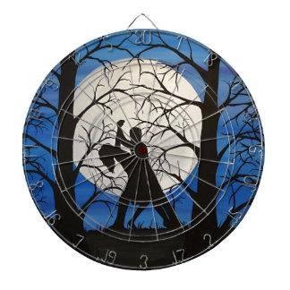 Cibles De Fléchettes Danseurs romantiques de silhouette