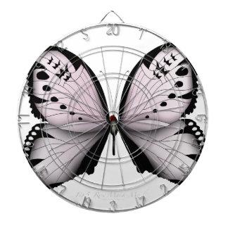 Cibles De Fléchettes Domestique rose de marais de papillon rose