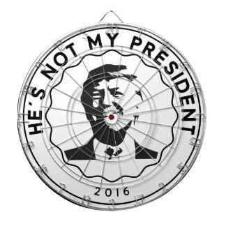 Cibles De Fléchettes Donald Trump n'est pas mon président