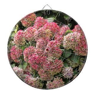 Cibles De Fléchettes Fleurs d'un hortensia de Français (macrophyl
