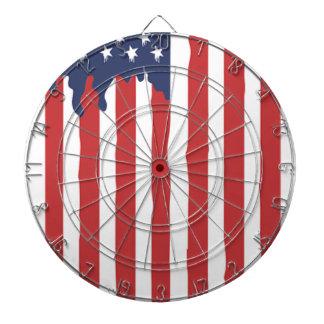 Cibles De Fléchettes Graffiti Etats-Unis de drapeau américain uni
