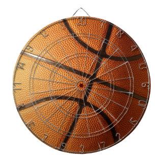 Cibles De Fléchettes Grand basket-ball orange lumineux,