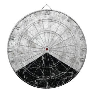 Cibles De Fléchettes Granit concret #844 de noir de flèche