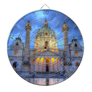 Cibles De Fléchettes L'église de Charles de saint à Vienne, Autriche