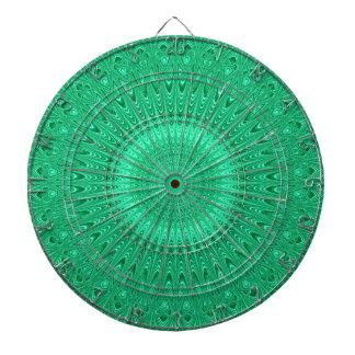 Cibles De Fléchettes Mandala vert 2