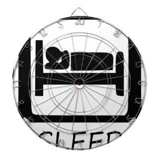CIBLES DE FLÉCHETTES MANGEZ SLEEP15