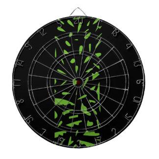 Cibles De Fléchettes Noir de luxe de vert d'ornements