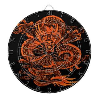 Cibles De Fléchettes Orange épique de dragon