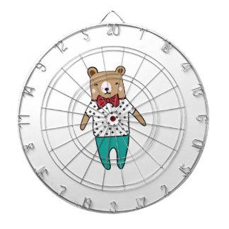 Cibles De Fléchettes Petit ours mignon