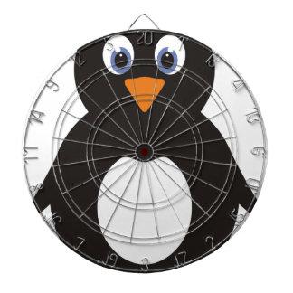 Cibles De Fléchettes Pingouin mignon