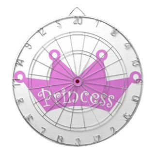 Cibles De Fléchettes Princesse Tiara Crown