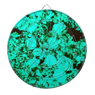 Cibles De Fléchettes Roses de damassé verts de turquoise de cobalt