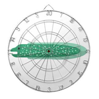 Cibles De Fléchettes Style vert de primitif d'anguille