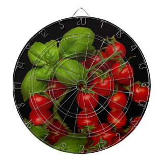 Cibles De Fléchettes Tomates cerise rouges fraîches