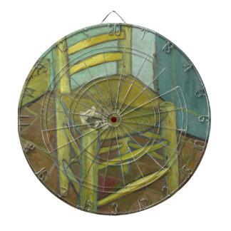 Cibles De Fléchettes Vincent van Gogh - la chaise de Van Gogh avec le