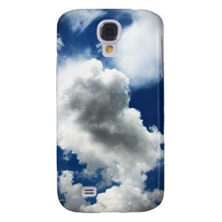 Ciel bleu avec des nuages coque galaxy s4