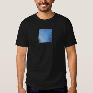 Ciel bleu et pluie t-shirt