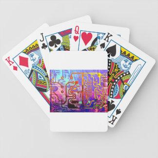 Ciel bleu jeu de poker