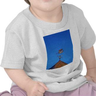 Ciel bleu lumineux de palette de temps d'ange t-shirt