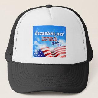 Ciel d'arrière - plan de drapeau américain de jour casquette