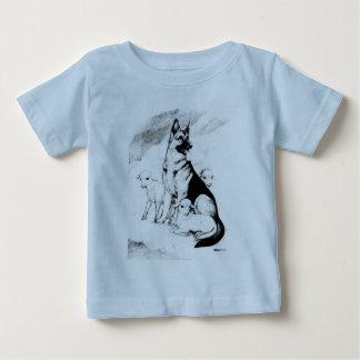 Ciel de chien, le troupeau du maître t-shirt pour bébé