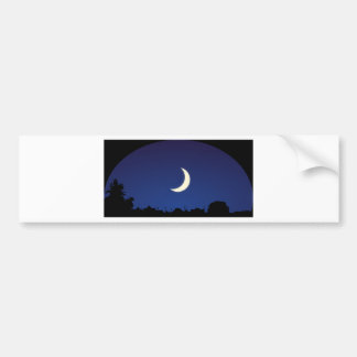 Ciel de clair de lune autocollant pour voiture