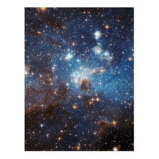 Ciel étoilé carte postale