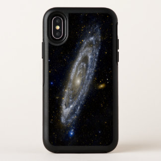 Ciel étoilé de galaxie d'Andromeda