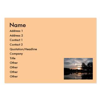 Ciel extraordinaire, nom, adresse 1, adresse 2, carte de visite grand format