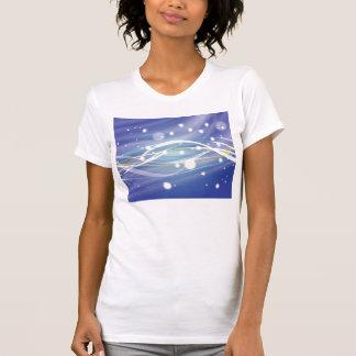 Ciel nocturne bleu t-shirts
