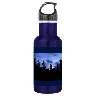 Ciel nocturne bouteille d'eau de 18 onces