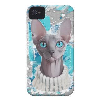 Cieux dans les yeux (chat de Sphynx) Coque Case-Mate iPhone 4