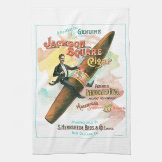Cigare carré de Jackson Serviette Pour Les Mains