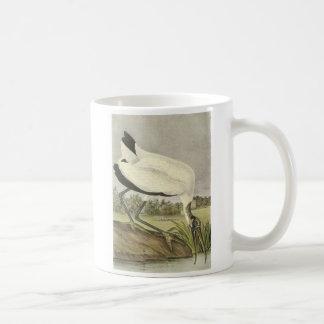 Cigogne en bois par Audubon Mug