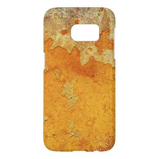 Ciment souillé par rouille orange sale extrême coque samsung galaxy s7