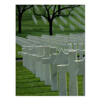 Cimetière de la deuxième guerre mondiale, Jour du Carte Postale