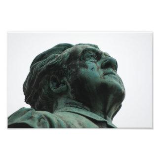 Cimetière de Père Lachaise statuaire Tirage Photo