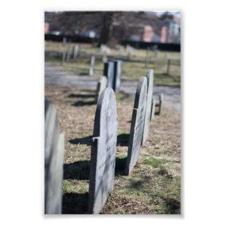 Cimetière de Salem Impression Photo