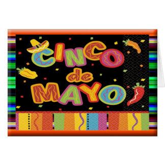 Cinco De Mayo Carte De Vœux
